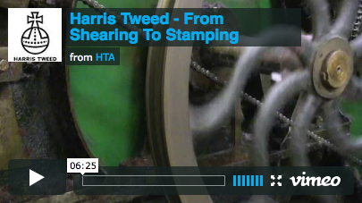 Harris Tweed: From Shearing To Stamping